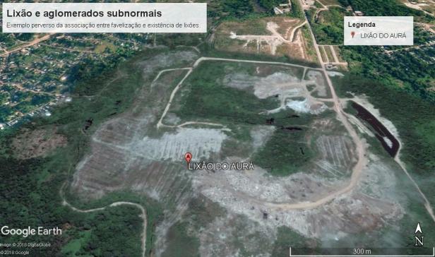 Lixão do Aurá aglomerados subnormais