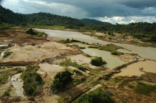 mineração ilegal terra indigena